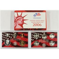2006 US SILVER PROOF SET (WITH BOX)