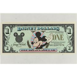 SERIES 1991 DISNEY DOLLAR CRISP UNC