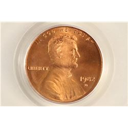1982-D LINCOLN CENT PCGS MS66RD