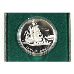 1999 CANADA PROOF SILVER DOLLAR 225TH ANNIVERSARY