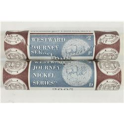 $2 ROLLS OF 2005-P & D WESTWARD JOURNEY NICKELS