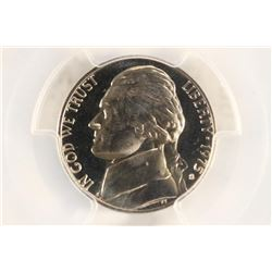 1975-S JEFFERSON NICKEL PCGS PR69 DCAM