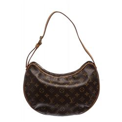 Louis Vuitton Monogram Canvas Leather Croissant GM Bag