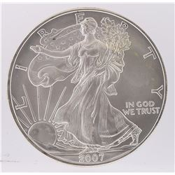 2007 American Silver Eagle Dollar Coin