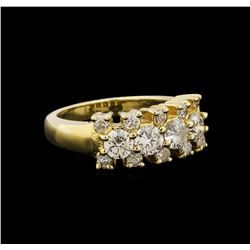 14KT Yellow Gold 1.28 ctw Diamond Ring