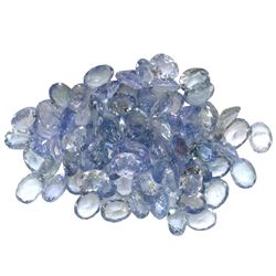 14.8 ctw Oval Mixed Tanzanite Parcel