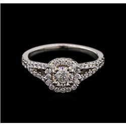 0.96 ctw Diamond Ring - 14KT White Gold