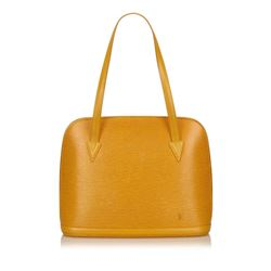 Louis Vuitton Yellow Epi Leather Lussac Shoulder Bag