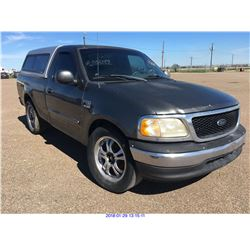 2002 - FORD F-150//TEXAS REGISTRATION ONLY
