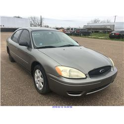2004 - FORD TAURUS//TEXAS REGISTRATION ONLY