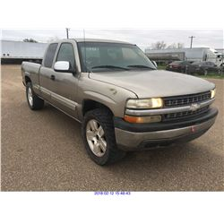 2002 - CHEVROLET SILVERADO//TEXAS REGISTRATION ONLY
