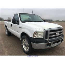 2005 - FORD F-250//TEXAS REGISTRATION ONLY