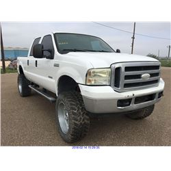 2005 - FORD F250//TEXAS REGISTRATION ONLY//REBUILT SALVAGE