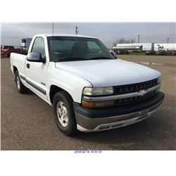 2001 - CHEVROLET SILVERADO 1500//TEXAS REGISTRATION ONLY