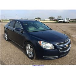 2011 - CHEVROLET MALIBU//TEXAS REGISTRATION ONLY//REBUILT SALVAGE