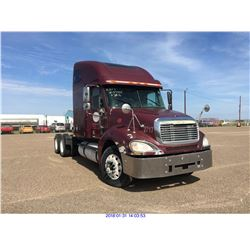 2003 - FREIGHTLINER COLUMBIA // BONDED TITLE