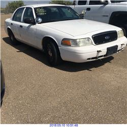 2011 - FORD CROWN VICTORIA