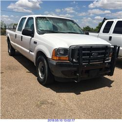 2001 - FORD F350