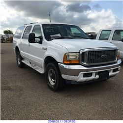 2001 - FORD EXCURSION 4X4
