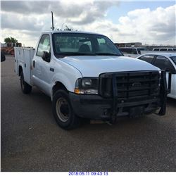 2003 - FORD F250 SERVICE TRUCK