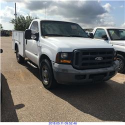 2006 - FORD F350 SERVICE TRUCK