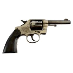 Colt DA .38 Mexican National Rail Road Revolver