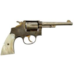 Spanish Copy S&W .38SPL Gold Washed Revolver