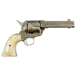 Engraved Colt 1873 SAA .44-40  Tom Mix / 101 Ranch