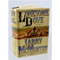 Signed First Edition Copy of Lonesome Dove