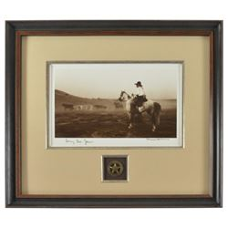 "Bill Wittliff ""Lonesome Dove"" Signed Photo"