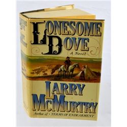 Lonesome Dove Book Signed To Joaquin Jackson