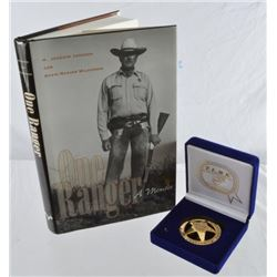 Joaquin Jackson Former Texas Ranger Major Badge