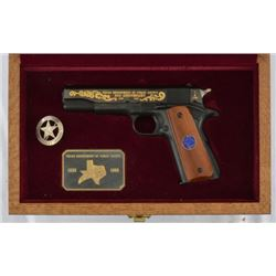 Colt 1911 .45 Texas DPS 150th Anniversary Pistol