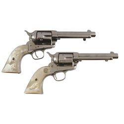 Police Captain's Pair of Colt .45s Texas Ranger