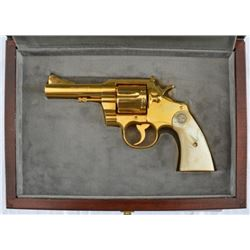 Colt Trooper .38 Gold with Pearl Grips
