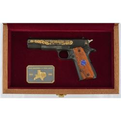 Texas Ranger Lucas'  DPS 50th Colt 1911 .45 Pistol