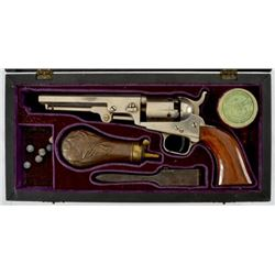 Cased Colt Model 1849 Pocket Model .31 Revolver