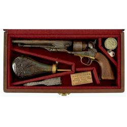 Cased Colt 1860 Army .44 Civil War Revolver