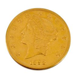 1898 U.S. $20 Gold Coin