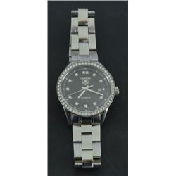 Ladies Diamond Tag Heuer Watch