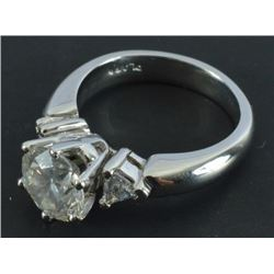 Ladies Platinum Diamond Wedding Ring