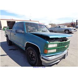 1993 - CHEVROLET CK 1500  // SALVAGE TITLE