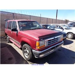 1994 - FORD EXPLORER//SALVAGE TITLE