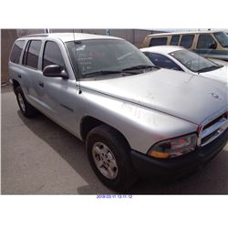 2001 - DODGE DURANGO// RESTORED SALVAGE