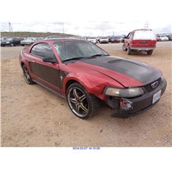 2001 - FORD MUSTANG