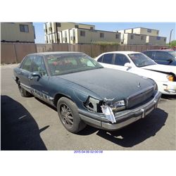 1994 - BUICK PARK AVENUE // SALVAGE TITLE