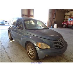 2006 - CHRYSLER PT CRUISER // SALVAGE TITLE