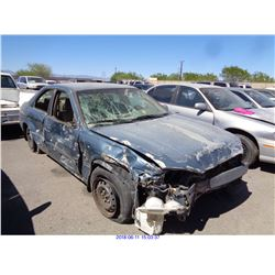 2000 - TOYOTA CAMRY // SALVAGE TITLE