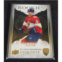16-17 Exquisite Collection Gold Rookies Michael