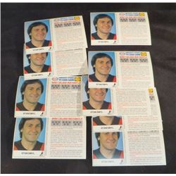 Lot Of 11 Esso Stan Smyl Cards From 1983-84